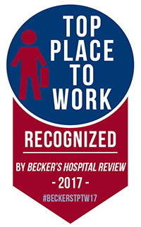 Top Places to Work in Healthcare 2017